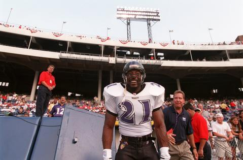 Earnest Byner rushed for 149 yards as the Ravens defeated winless New Orleans to claim just their second victory since moving to Baltimore.