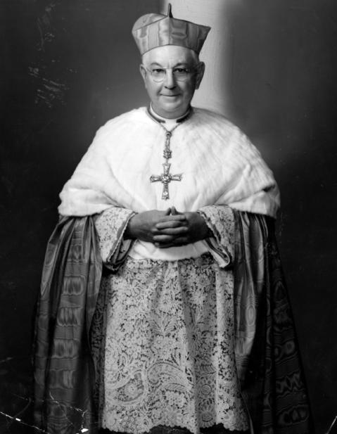 Samuel Stritch was installed as archbishop of Chicago on March 7, 1940. He was elevated to cardinal in 1946.