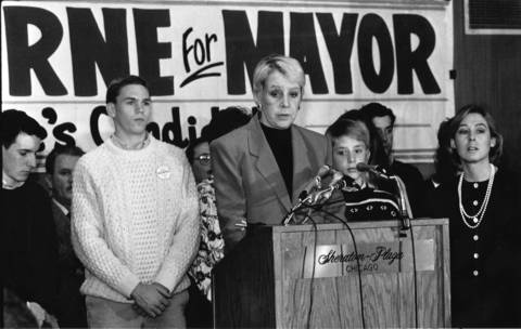 Chicago's first and only female mayor, Jane Byrne, died Nov. 14, 2014 at the age of 81.