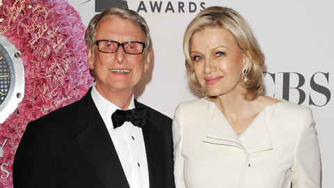 "Director Mike Nichols, known for a prolific career on stage, screen and television, died at age 83. His film credits include ""The Graduate"" and ""The Birdcage."" He is pictured with his wife, news anchor Diane Sawyer."