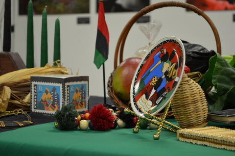 """Annual Kwanzaa ceremony at Columbia College Chicago Derived from the Swahili phrase meaning """"first fruits,"""" Kwanzaa honors the African custom of the community gathering to celebrate the first harvest, as well as past, present, and future generations. This year's ceremony at Columbia College Chicago will feature the lighting of candles, an African feast, African dance performances from the Crown Community Academy and Columbia College's West African Dance Classes, participation from Mahalia Jackson public elementary school's hearing-impaired students, and the theme of Celebrating Community, Embracing the Arts. Columbia College Chicago has hosted this event for over twenty years so, if you've never attended, this would be a fantastic year to start. 12:30 p.m. to 3 p.m. Dec. 1 at Columbia College Chicago, Room 102, 33 E. Congress Parkway (312-369-1000, events.colum.edu). Free and open to the public."""