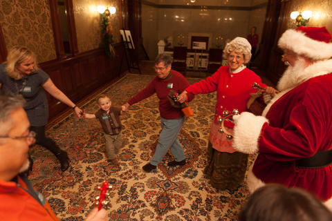 Santa Saturdays at Driehaus Museum The Magnificent Mile's Driehaus Museum — the magnificently restored home that transports visitors back to Chicago's Gilded Age at the turn of the 19th century — hosts this family Christmas event. In addition to standard activities, like making crafts and eating cookies, and an appearance by the ubiquitous jolly guy, kids will also get to meet a unique-to-Chicago character: Santa's assistant and pro storyteller Aunt Holly (created by Marshall Field's Department Store in 1946). 10 a.m. to 1 p.m. Dec. 13  $8 for kids 12 and under.
