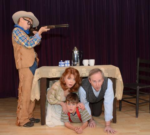 """Reintroducing Ralphie and his Red Ryder BB gun We triple-dog-dare you to spot all the icons from """"A Christmas Story"""" — glowing leg lamp, pink bunny suit, turkey-stealing hound and tongue-freezing light pole — in Western Springs' theatrical adaptation of the comic, classic family movie. 7:30 p.m. Dec. 5  11 a.m. Dec. 6  2:30 p.m. Dec. 7  4 p.m. Dec. 6  Theatre of Western Springs, 4384 Hampton Ave., Western Springs. $15 adults; $8 kids ages 5 and up."""
