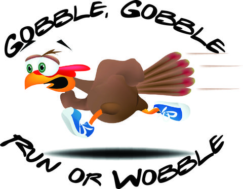 Gobble, Gobble Run or Wobble 5K at St. Linus School There's nothing quite like getting a jump-start on the holiday season -— in this case, working off the turkey dinner before Thanksgiving itself. The first annual Gobble, Gobble Run Or Wobble 5K benefits St. Linus School in Oak Lawn as well as Emily's Entourage, a group that supports a brave little gal fighting Non-Hodgkin lymphoma. Pretty sure you just earned yourself another piece of pie. 9 a.m., Nov. 22 at St. Linus School, 10400 Lawler Ave., Oak Lawn (773-908-9871, stlinusoaklawn.org/gobblegobblerunorwobble5k). $25 pre-registration, $30 day of race, plus $2.50 sign-up fee