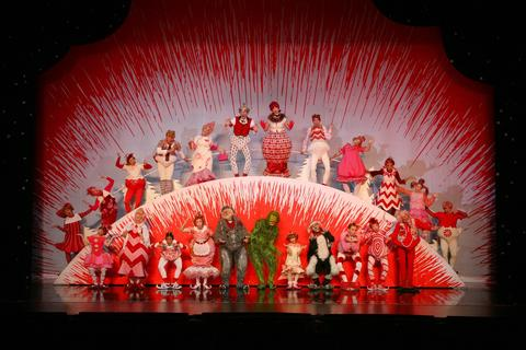 """""""How the Grinch Stole Christmas"""" at the Chicago Theatre Hearts in need of growing a few sizes? Check out the limited engagement of """"How The Grinch Stole Christmas! The Musical"""" at the iconic Chicago Theatre. Featuring stunning sets created for this glamorous venue -— and inspired by Dr. Seuss' fabulous illustrations — this classic tale of rediscovering the true meaning of the holidays might be exactly what you need to welcome Christmas. Through Nov. 29 at The Chicago Theatre, 175 N. State St. (800-745-3000, thechicagotheatre.com). $35-$125."""