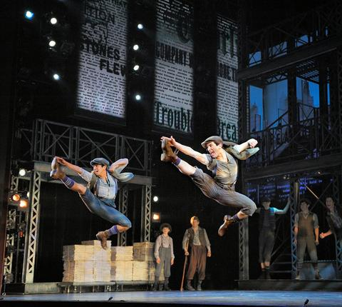 """""""Newsies"""" national tour Broadway in Chicago presents a few hit shows during the holidays, but we're most excited for """"Newsies,"""" the unlikely Broadway show adapted from the mostly forgotten 1992 movie musical (starring a young Christian Bale). A nice change of pace from traditional Christmas fare, this based-on-truth tale about an 1899 strike should be a huge hit with kids, since they're the heroes: It's the underdog newsboy legion against the grown-up, big-business overlords. Plus the show's pedigrees — Tony- and Oscar-winning composer Alan Menken, Tony-winning playwright Harvey Fierstein — can't be beat. Dec. 10-Jan. 4 at the Oriental Theatre, 24 W. Randolph St. (800-775-2000, broadwayinchicago.com). Starting at $80."""