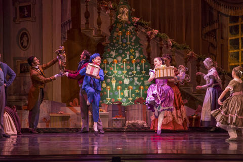 """Joffrey Ballet's """"Nutcracker"""" E.T.A. Hoffmann's 1816 story, """"The Nutcracker and the Mouse King,"""" gets plenty of retellings every December — but none as popular as the ballet version with the instantly recognizable, delightful score by Peter llyich Tchaikovsky. The Joffrey's lavish production places dozens of kids onstage with the pros, and the children in the audience will especially love The Sugar Plum Fairy's five """"divertissements"""" — short dances celebrating sweets from around the world. Dec. 5-28 at The Auditorium Theatre of Roosevelt University, 50 E. Congress Parkway (joffrey.org/nutcracker). $32-$134."""