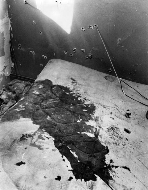 The rear bedroom where Black Panther leader Fred Hampton was killed Dec. 4, 1969, during a raid on his apartment by police. The photo was taken Dec. 12.