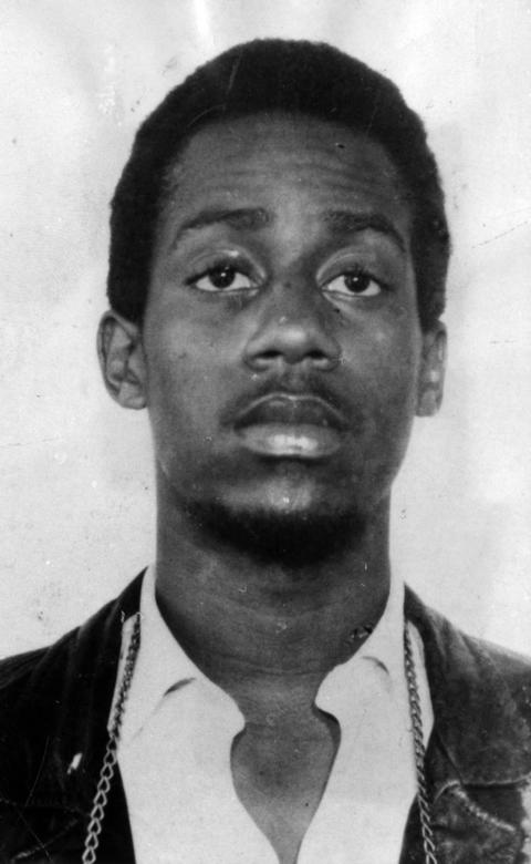 William O'Neal, the FBI informant who infiltrated the Black Panthers in Illinois, circa February 1973.