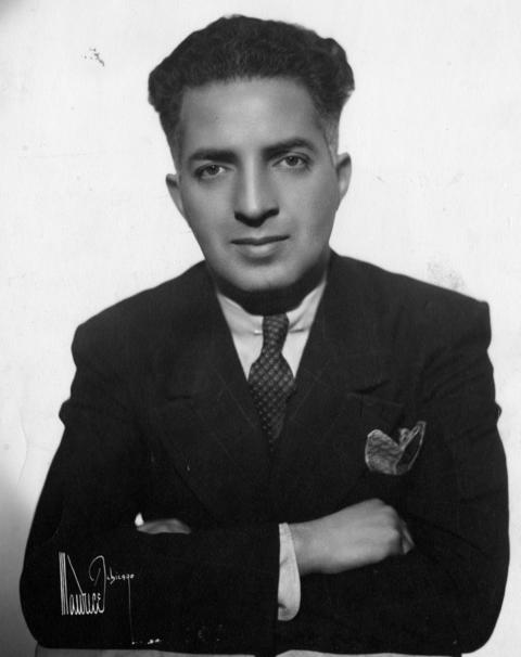 Leo Seltzer in 1943. Seltzer was a sports promoter for the Chicago Coliseum who invented roller derby in the 1930s.