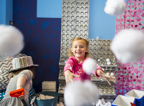 """Snow much fun at the Children's Museum Frigid fun without the frostbite, Snow Much Fun has all the must-do's of a snow day: """"ice"""" fort building, """"snowball"""" fights, snow people to dress, shovels, sleds and — the exhibit favorite — a skating rink, aka a linoleum floor buffed to maximum slipperiness. Regular hours through Jan. 4 at the Chicago Children's Museum, 700 E. Grand Ave. (312-527-1000, chicagochildrensmuseum.org). Included in museum admission: $14 for adults and children, $13 for seniors."""