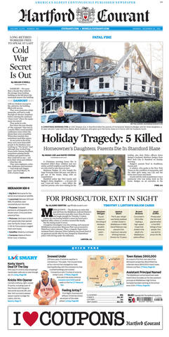 Three children and their grandparents were killed on Dec. 25, 2011, when discarded ash from a fireplace caused their Stamford home to catch fire. The children's mother and her friend escaped the fire.