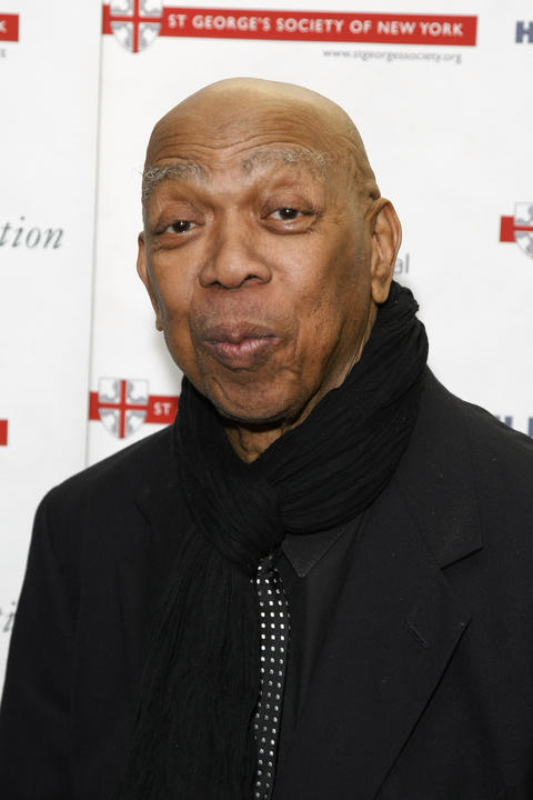 "Actor Geoffrey Holder attends the 2010 Anglo-American Cultural Gala Awards reception on October 25, 2010 in New York City. He is known for playing a Bond Villain in ""Live and Let Die"" and for his role as the Un-Cola man in the 7Up commercials from the '70s and '80s. He died from pneumonia at the age of 84 on Oct. 5, 2014."