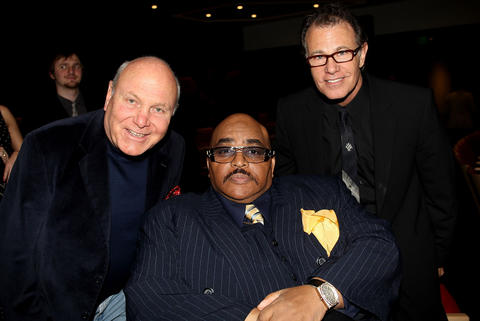 Musician Tim Hauser (left) of The Manhattan Transfer died October 16, 2014. He was 72. (L-R) Tim Hauser of The Manhattan Transfer, Solomon Burke, and Alan Paul of The Manhattan Transfer attend the GRAMMY's Salute to Jazz at the GRAMMY Museum on January 26, 2010 in Los Angeles, California.