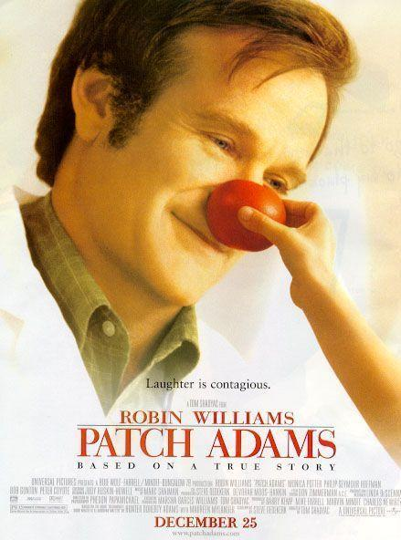 "Critics rag on ""Patch Adams"" for its squishy sentimentality and justifiably so. Robin Williams' doctor character? Definitely more smug and sanctimonious than hilarious. The film gets one thing right for sure: Laughter really is the best medicine."
