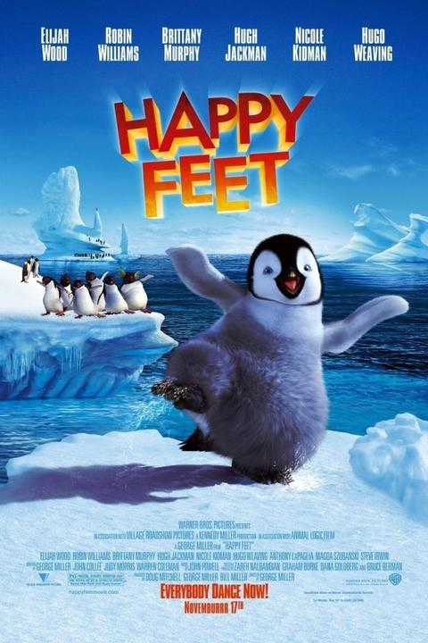 "Heavy on irony, ""Happy Feet"" -- and its PG rating -- are not to be taken lightly."