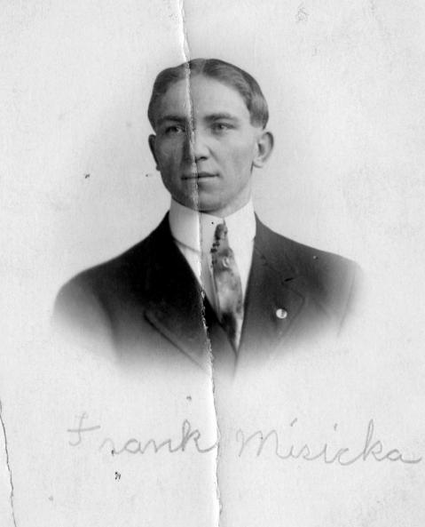 Frank Misicka was killed when the Eastland sank in 1915.