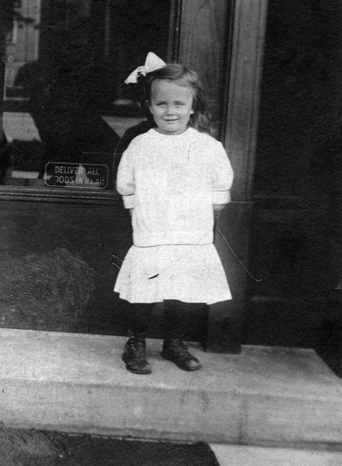 Eastland survivor Marion A. Eichholz. Eichholz had just turned 3 when she survived the Eastland disaster on the Chicago River.