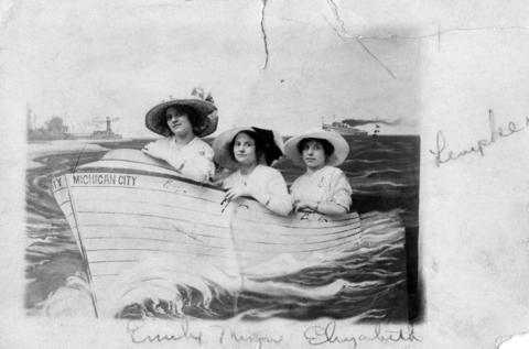 Emily, Wilhelmina (Minnie) and Elizabeth Lempke, all victims of the Eastland disaster in 1915.