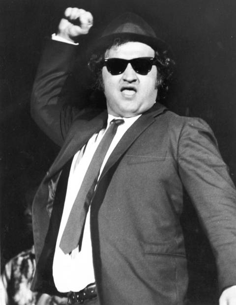 """John Belushi appeared in the first season of """"Saturday Night Live"""" in 1975 and continued through 1979, according to NBC's website. He performed with The Second City comedy troupe in 1971."""