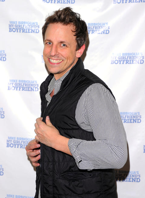 """Seth Meyers was born in Evanston and graduated from Northwestern University. He's worked with improv sketch groups Mee-Ow, ImprovOlympic and Boom Chicago. He joined """"Saturday Night Live"""" in 2001 and went on to be host of NBC's """"Late Night."""""""