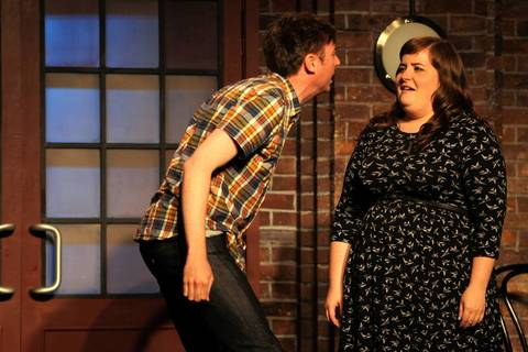 """Aidy Bryant, right, graduated from Columbia College Chicago. She also performed at iO, Second City and Annoyance Theatre. She joined """"Saturday Night Live"""" as a featured player in 2012."""