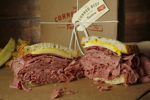 The Corned Beef Factory Sandwich Shop's menu is simple: corned beef, Reuben, pastrami, Italian beef or a hot dog. At $10, the corned beef sandwich is top quality without any fussy touches. 1009 W. Lake St., 312-666-2535-- Elizabeth Buck, Special to the Tribune