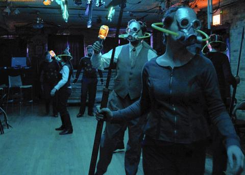 """""""20,000 Leagues Under the Sea"""" at Strawdog Theatre Jules Verne's daring 19th-century classic gets the Strawdog spectacle treatment in this fun, family-friendly adaptation of an aquatic adventure. Heroics await, and more than a little danger awaits (hellooo, giant squid!), so while it's just a breezy 80 minutes long, parents should use their judgment: The show might be best for sailors age 10 and up. Through April 7 at Strawdog Theatre Company, 3829 N. Broadway St. (773-528-9696, strawdog.org). $15, $5 for 14 and under."""