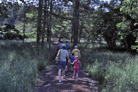 Family Twilight Adventures at the Morton Arboretum As part of the arboretum's Family Twilight Adventures series, kids and adults alike will revel in the after-hours adventure of a moonlit walk. Between hiking, roasting marshmallows and enjoying a tranquil tram ride through the woods, families can enjoy the benefits of camping without worry about tents and sleeping bags. Space is limited, so you'll want to pre-register for this event, geared for ages 2 and up. May 8 and 16 at the Morton Arboretum, 4100 Illinois Route 53, Lisle (630-968-0074, mortonarb.org). $16 for members, $19 for non-members. (Non-member fee also includes admission to the museum.)
