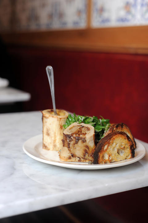 The Purple Pig's roasted bone marrow has a perfectly solidified, easy-to-scoop consistency that makes it a prime find and the ideal topping for the accompanying thick-sliced crusty bread. 500 N. Michigan Ave., 312-464-1744, thepurplepigchicago.com -- Emily Wickwire