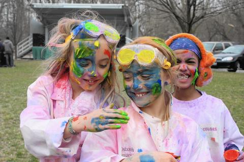 Holi, the Festival of Colors It almost seems too good to be true: Celebrate the arrival of spring while making a gorgeous mess in the process! Whether you're celebrating tried-and-true friendship or just indulging in flinging (safe and organic!) colored flour at random strangers, this downtown Naperville festival is a welcome bright spot after a long and dreary season. 11 a.m.-4 p.m. April 11 at the Grand Pavilion Riverwalk, 500 W. Jackson Ave., Naperville (630-355-5468, thefestivalofcolors.org). Free admission; $2 per bag for colored flour. (No outside colors allowed.)
