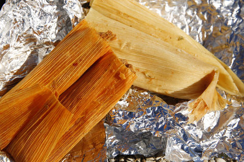 The tamales at La Casa del Pueblo Taqueria are wrapped and buried in a tub of tin foil, making it difficult for customers to recognize them as a menu option, but hiding in that foil vat are wet, flavor-gorged tamales. (1834 S. Blue Island Ave., 312-421-4664) -Elizabeth Buck