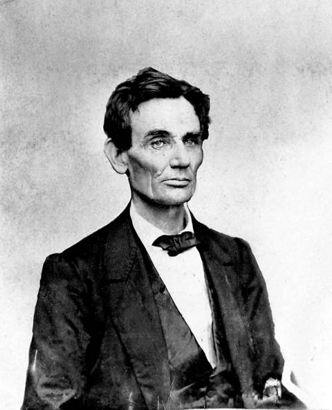 Abraham Lincoln, the 16th president of the United States, was born in 1809 in present-day LaRue County, Ky.