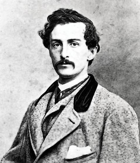 John Wilkes Booth, President Abraham Lincoln's assassin. Federal troops surrounded him in 1865 on a farm near Bowling Green, Va. He later was found dying in a barn, the victim of either a suicide or a shooting.
