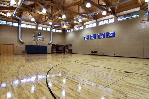 Dream homes burr ridge chicago tribune for Built in basketball court