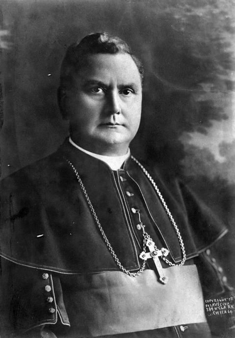 The Rev. James Edward Quigley served as the archbishop of Chicago from 1903 to 1915.