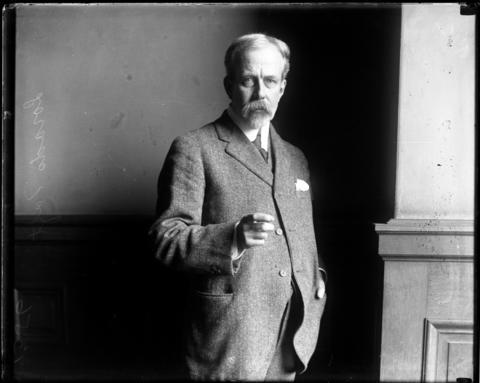 Sculptor Lorado Taft in an undated photo.