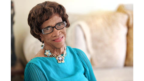 "Dr. Mary T. Christian in her home in Hampton. Christian has received many honors for her long career in public service, but her mentorship of young ""unreachables"" is a mission that gives her positive satisfaction, feeling each generation needs to make a way for the next."