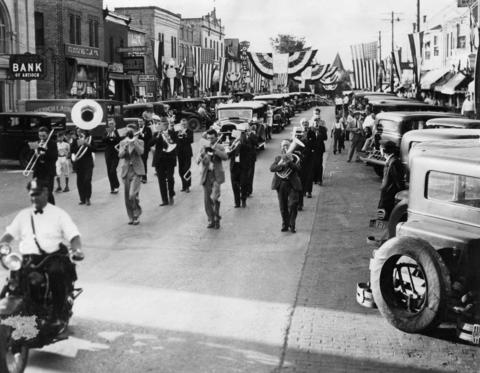 Antioch celebrates Cermak Day in honor of Chicago Mayor Anton Cermak in 1931. Cermak owned a summer home in Antioch for many years.