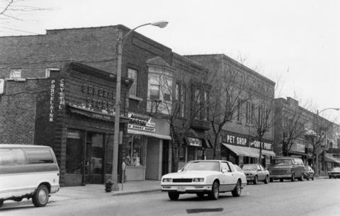 May 1990 Main Street in Antioch.
