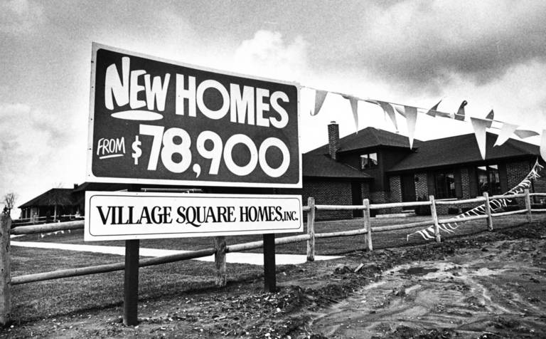 1983 This Photo Was Part Of A Story About The Growth Orland Park