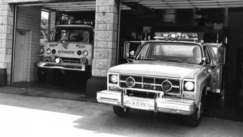 1984: Despite a $234,000 budget that allows for 35 firefighters, the combination of an aging population and affluence is taking its toll on the Riverside Fire Department.