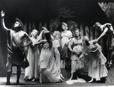 """1957: Sandro Botticelli's """"Primavera"""" isanother painting brought to life through music and dancing at Ravinia's closing event."""