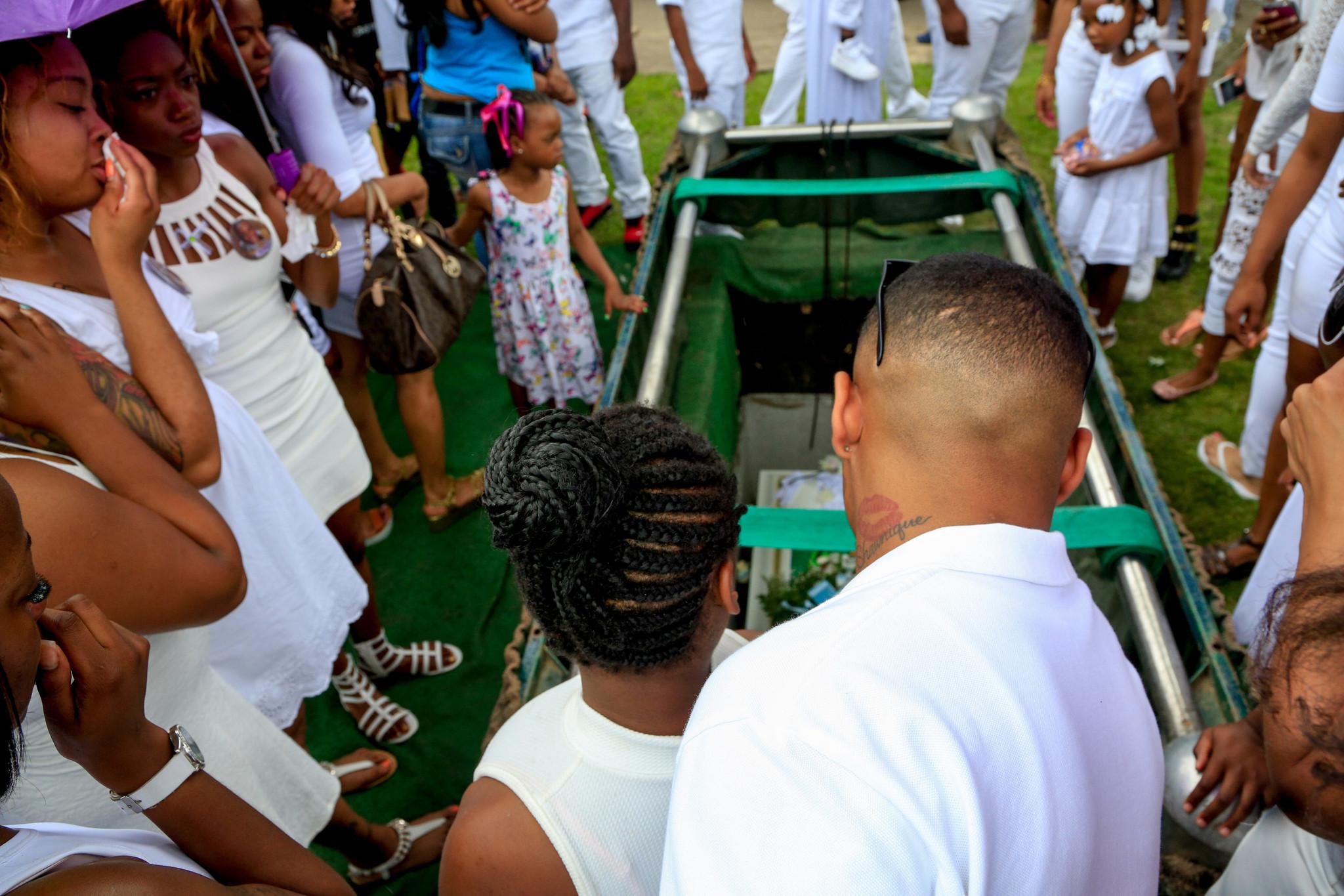 Amari Brown funeral