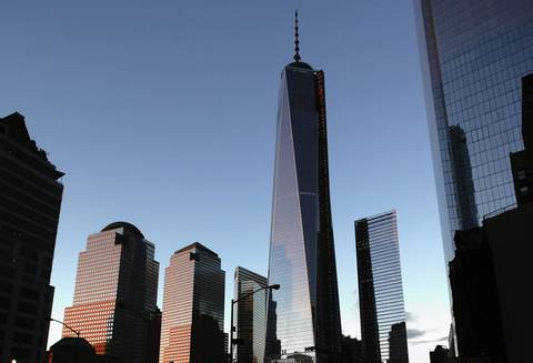 No.3 One World Trade Center in New York City, at 1,776 feet, will be the tallest building in the United States when it opens in 2014.