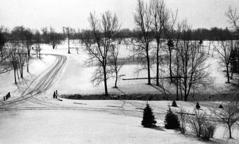 June 1968 : The Palatine Hills Golf Course.