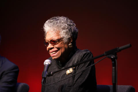 Poet and author Maya Angelou died at age 86 on May 28, 2014.