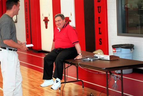 Bulls general manager Jerry Krause on Oct. 4, 1999.