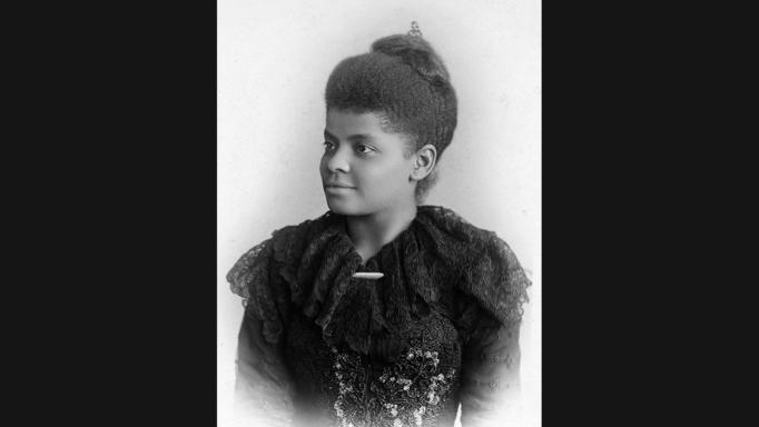 Ida B. Wells-Barnett in a photo taken in 1893 by photographer Mary Garrity in Chicago. Wells started the Alpha Suffrage Club in Chicago in January 1913, one of the first and most important black female suffrage organizations in the state and the city.