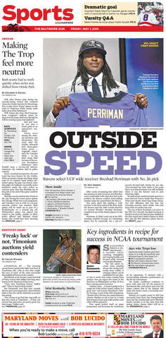 Speed was Breshard Perriman's calling card, but we haven't yet seen it in Ravens purple. Last year's first-round selection missed the entire season with an injury.
